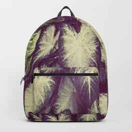 White Caladium Backpack