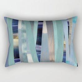 Sea(scapes)stripes Rectangular Pillow