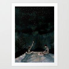 true love waits Art Print