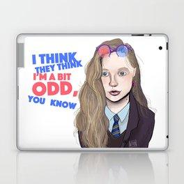 I think they think I'm a bit odd, you know Laptop & iPad Skin