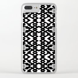 old pattern 0811 Clear iPhone Case