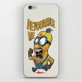 Devourable Me iPhone Skin
