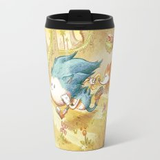 Starring Sonic and Miles 'Tails' Prower (Yellow Version) Travel Mug