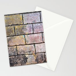 Brick Mason Masonry Old Wall Cuba Distressed Vintage Chippy Paint Caribbean Abstract Decor Stationery Cards