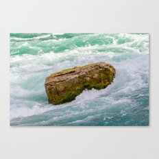 Solid as a rock Canvas Print