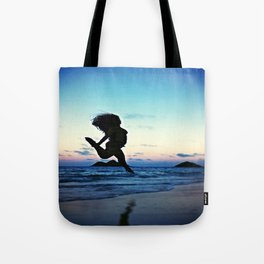 Dancing with the Wind Tote Bag