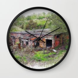 Renovation Required Wall Clock