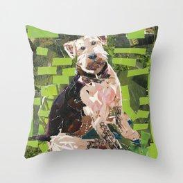 Sparky Throw Pillow