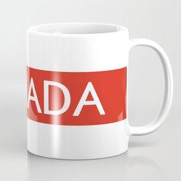 Canada (Stripe) Coffee Mug