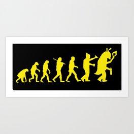Fil·loevolució Art Print