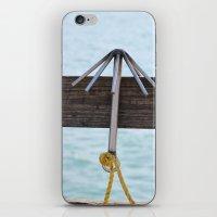 hook iPhone & iPod Skins featuring Hook by Henrik Lehnerer