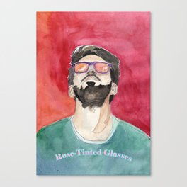 Rose-Tinted Glasses Canvas Print