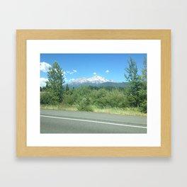 Mt. Shasta Framed Art Print