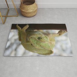 Chameleon: Fifty Shades of Green Rug