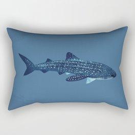 "FINconceivable Still ""Whale Shark"" Rectangular Pillow"