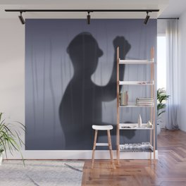 If you're Home Alone, showering... Wall Mural
