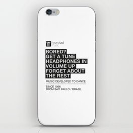 Music quote iPhone Skin