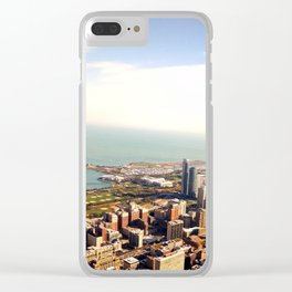 Chicago from the Skydeck Clear iPhone Case