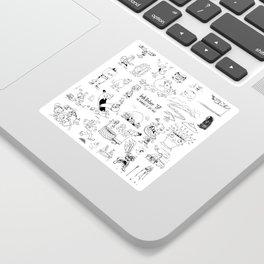 Inktober 2017 Sticker