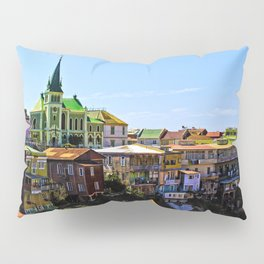 Cerro Conception, Valparaiso, Chile Pillow Sham