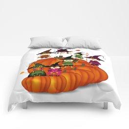 Halloween children wearing costume Comforters