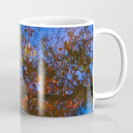 Rippled Water and Leaves 1 Coffee Mug