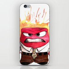 Anger iPhone Skin