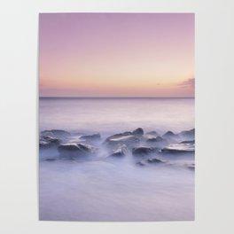 Calm sea. Mediterranean Poster