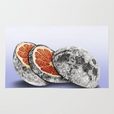 In which there is a mandarin in the moon Rug