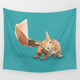 Squirrel. Wall Tapestry