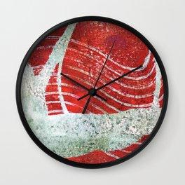 Flying Mermaid Wall Clock