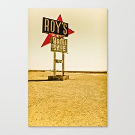 Roy's Motel and Cafe (Route 66) Canvas Print