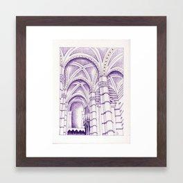 Duomo di Siena Framed Art Print