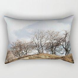 Mill Street Exit | 401 Series | Landscape | Vintage | Nadia Bonello Rectangular Pillow