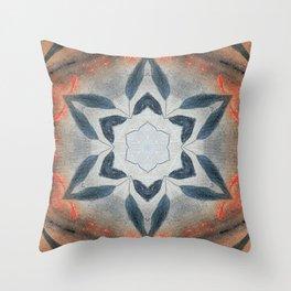 Bushfire Gum Medallion 13 Throw Pillow