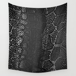 Black Snake Skin Wall Tapestry