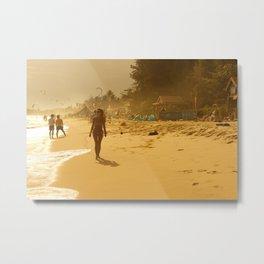 Mui ne beach Metal Print