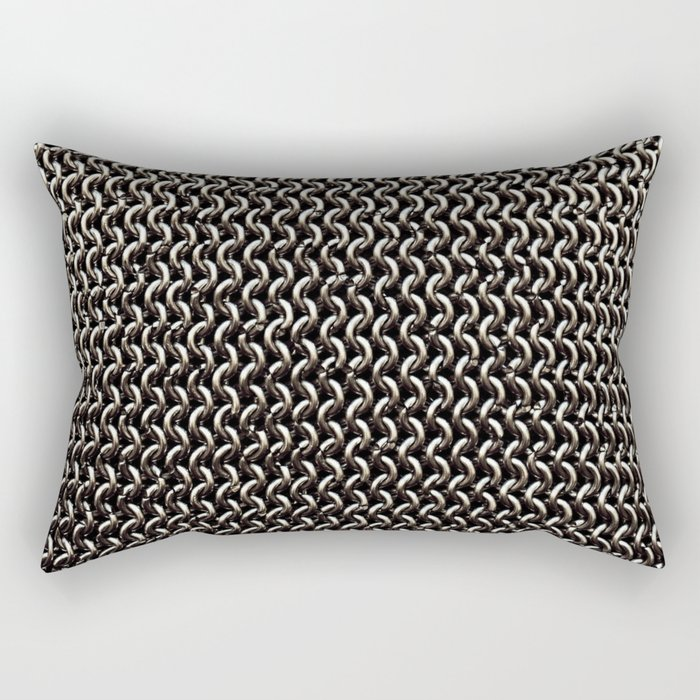 Chainmail Rectangular Pillow