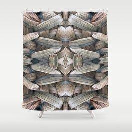 Tone Color Blends Shower Curtain