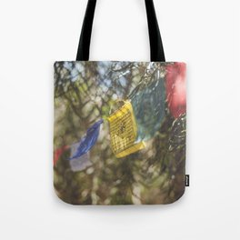 Prayer Flags Tote Bag