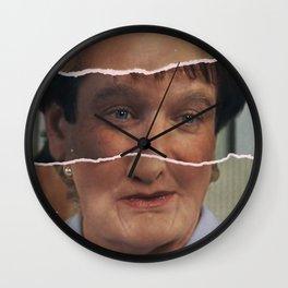 Mrs. Doubtfire, Robin Williams, movie poster, Pierce Brosnan, Chris Columbus, 90s film Wall Clock