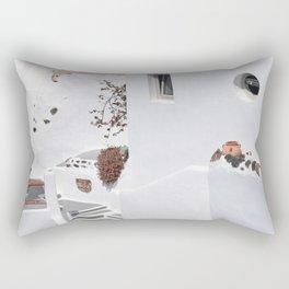 Santorini Architecture, Greece Rectangular Pillow