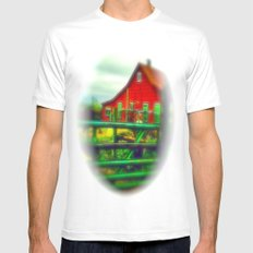 Red House Mens Fitted Tee White MEDIUM