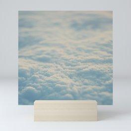 above the clouds ... Mini Art Print