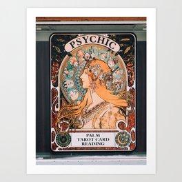 venice beach psychic Art Print