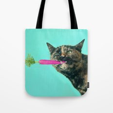 The Pink Carrot Tote Bag