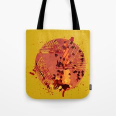 Polygons of a Photograph Tote Bag