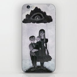 The Unfortunate Baudelaire Orphans iPhone Skin