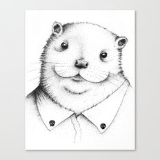 Cute Otter ! Canvas Print