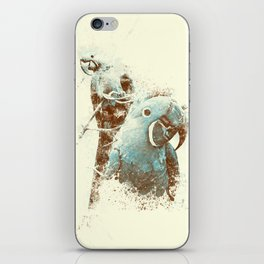 Brazilian Arara iPhone Skin